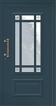 Haustür im nordischen Stil