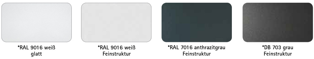 Farben der Easy-Line Haustür