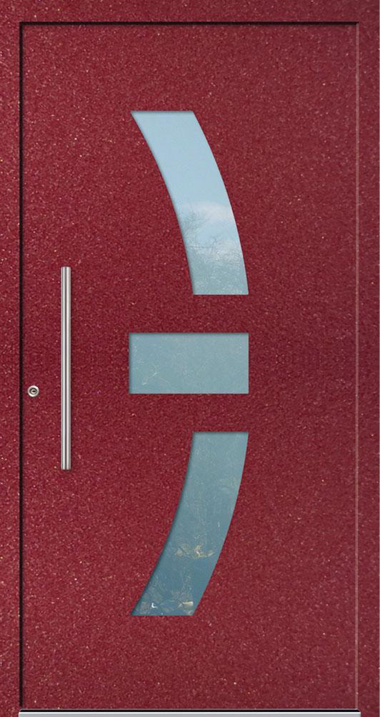 Aluminium-Haustür Ankeno in rot kaufen