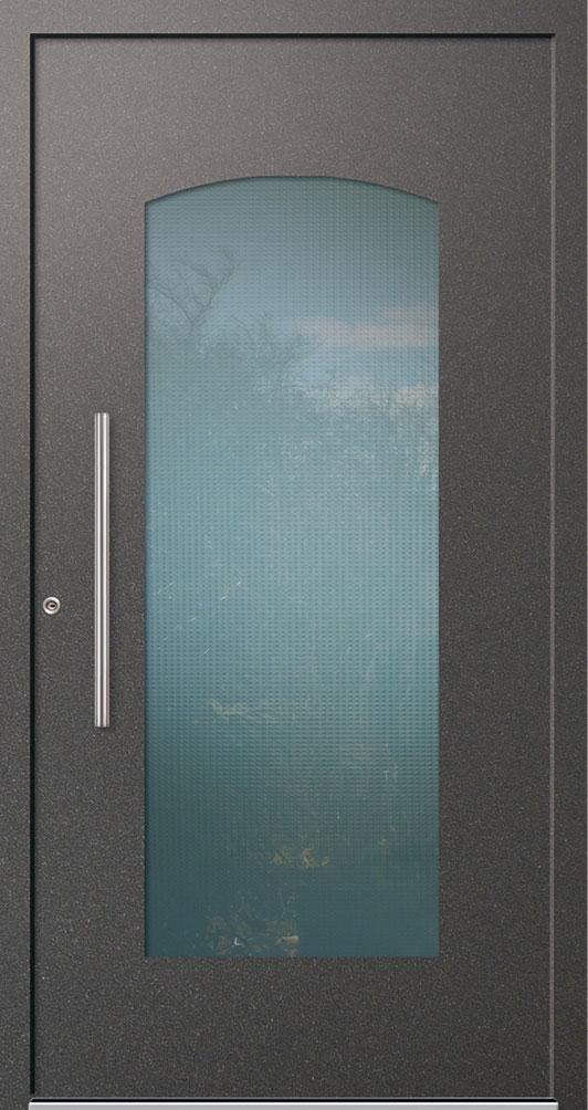 Aluminium-Haustür RINA mit großem Lichtausschnitt kaufen