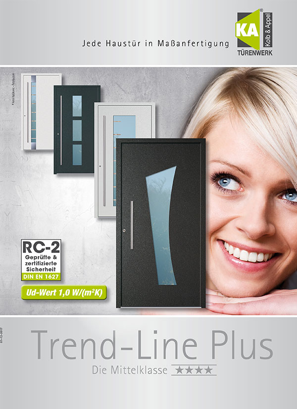 Aluminium-Haustür Trend-Line-Plus