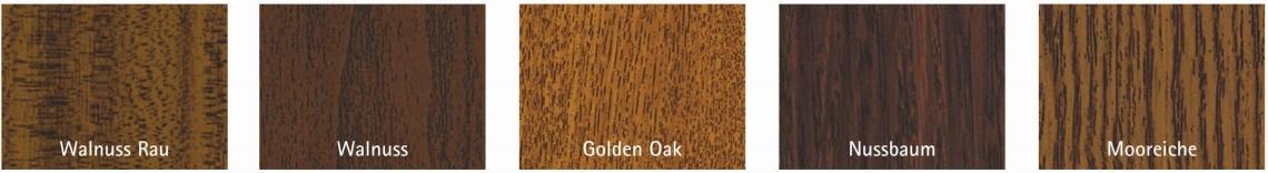 Haustür mit Holz