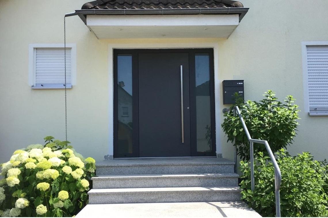 Haustür geschlossen in Sicherheitsklasse RC-3