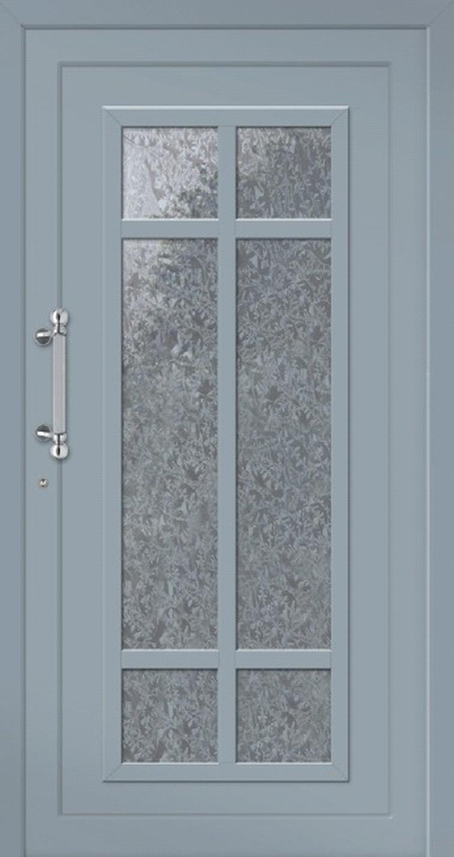 Klassische Haustür aus Aluminium Modell Baltrum