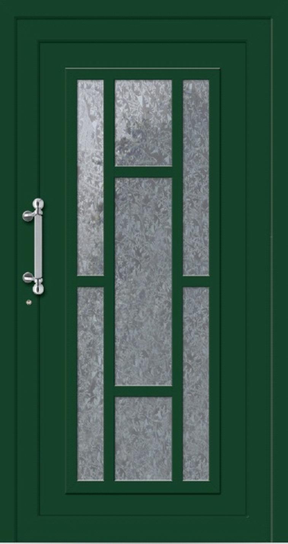 Klassische Haustür aus Aluminium Modell OLAND