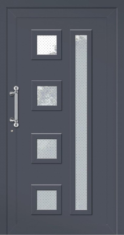 Klassische Haustür aus Aluminium Modell SPIEKEROOG
