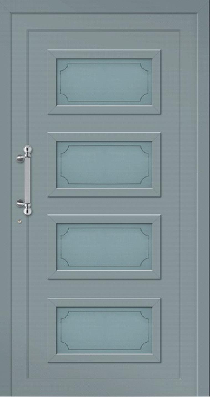 Klassische Haustür aus Aluminium Modell SYLT