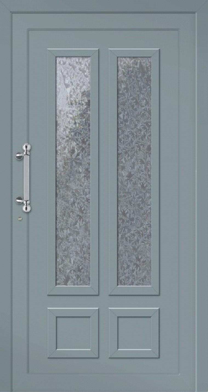 Klassische Haustür aus Aluminium Modell Wangerooge