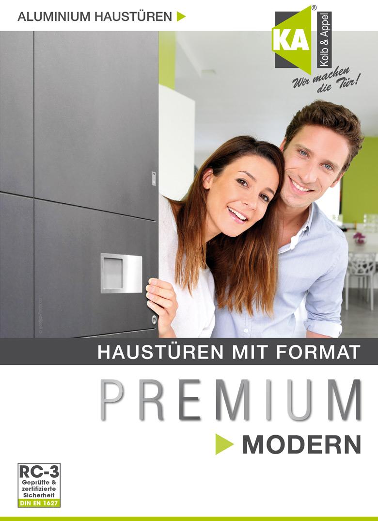 Aluminium-Haustür Premium MODERN