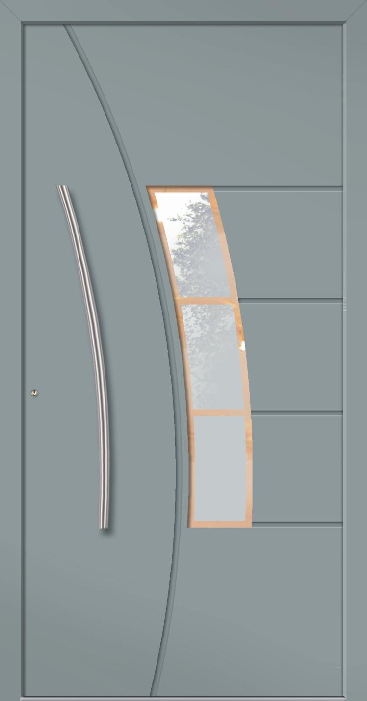 Aluminium Haustür Modern Modell ATHEN
