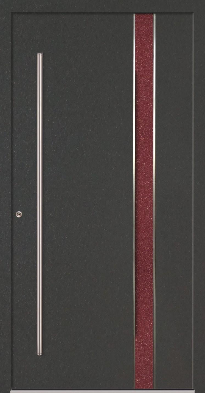 Aluminium-Haustür Fabro mit Holzdekor
