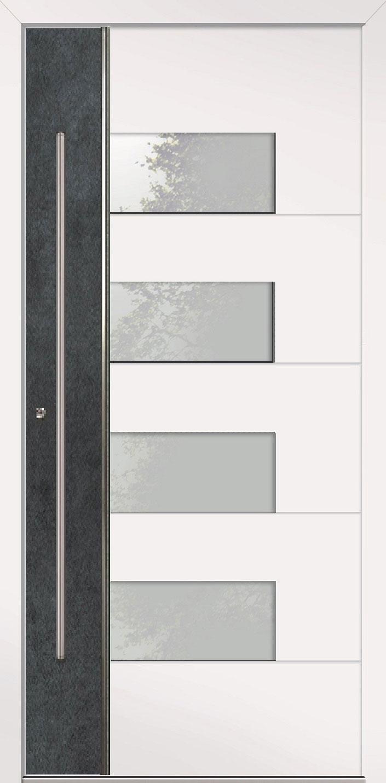 Aluminium Haustür Modern Modell HAMBURG