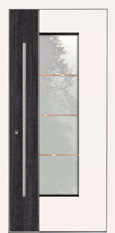Aluminium Haustür Modern Modell STARNBERG