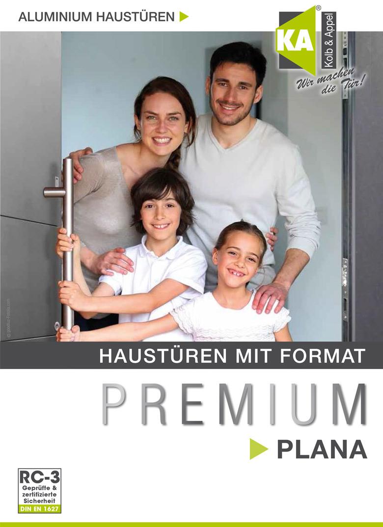 Aluminium-Haustür Premium PLANA