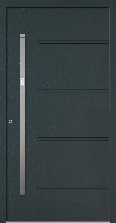 PETTINE premium Haustür aus Aluminium