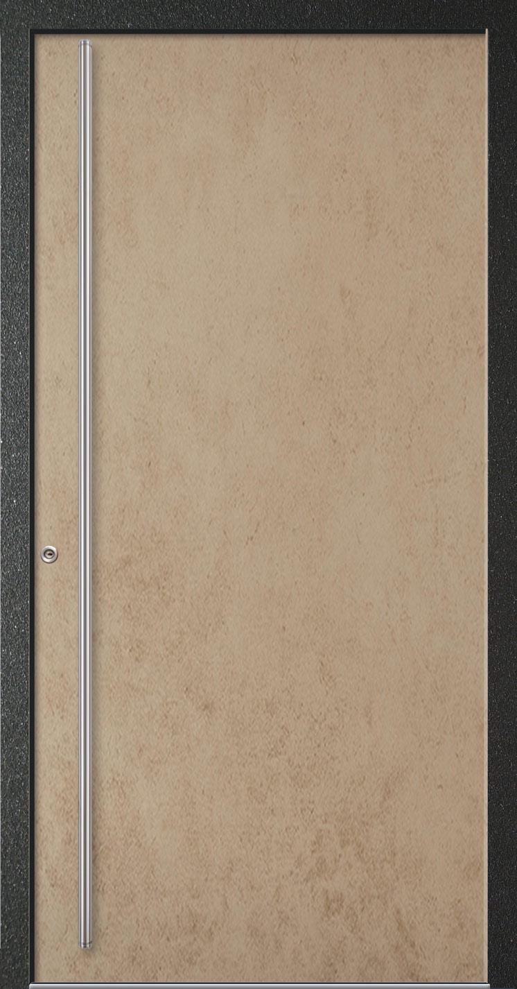 Premium Haustür Aluminium Traverso beige