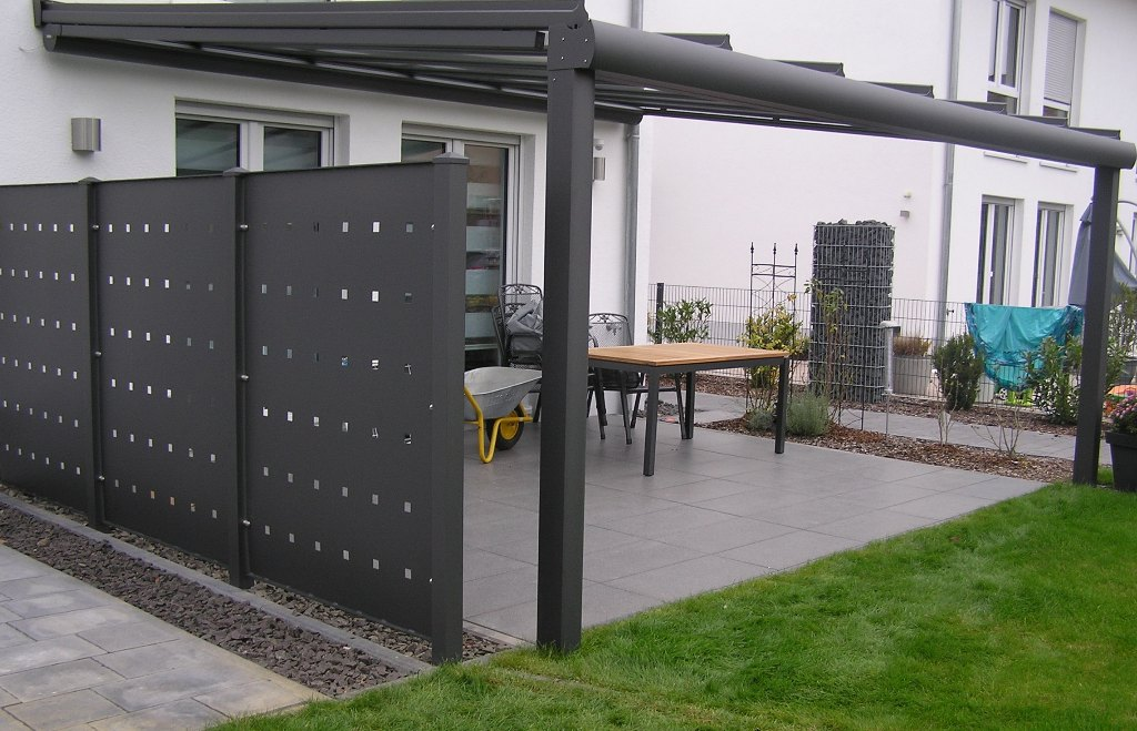 Terrassendach - Aluminium